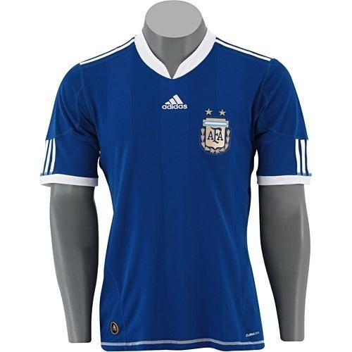 Camisa Argentina 2010 adidas Nova Made Argentina - R  399 b572f086e2ea5