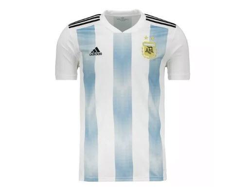 19b62dd738a Camisa Argentina 2018 Oficial adidas Preço Menor Ninguém Faz - R  555