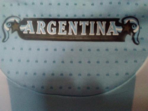 camisa argentina adidas 2009(8* zanetti)