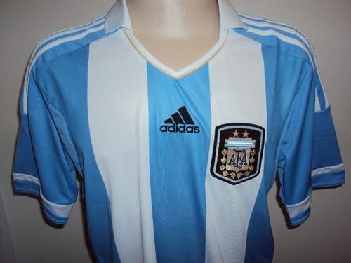 camisa argentina adidas oficial tam: g