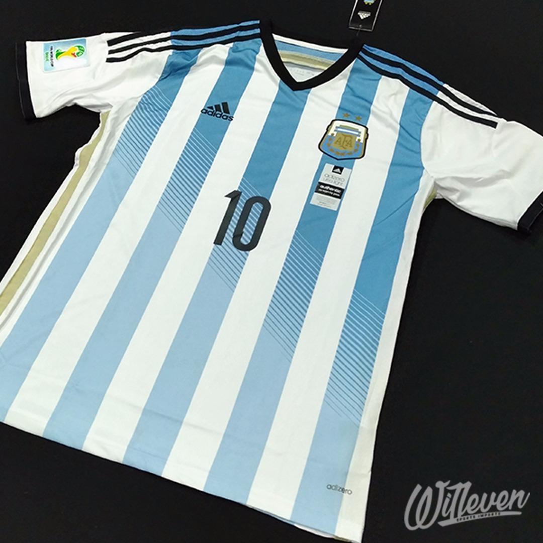333f53863d 5123dd5cae1838  Camisa Argentina adidas Titular Adizero 14 15 10 Messi - R  129