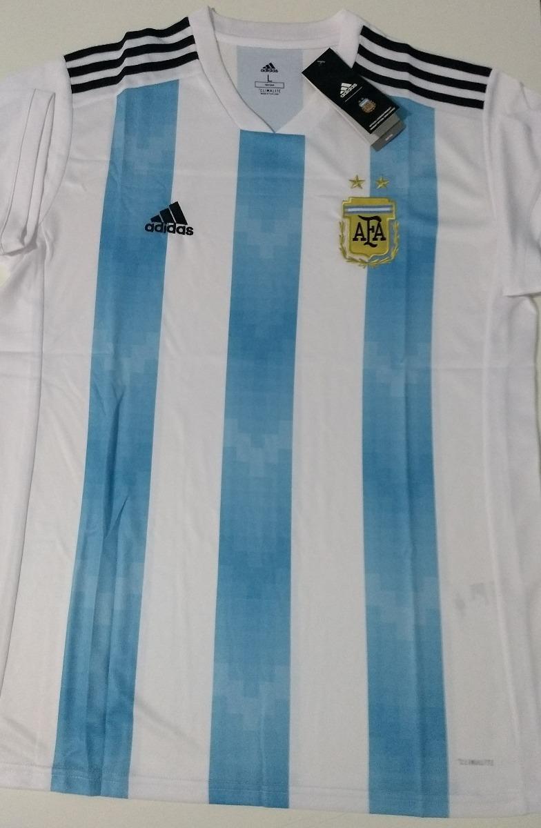 2db498c9ed camisa argentina copa 2018 oficial torcedor. Carregando zoom.