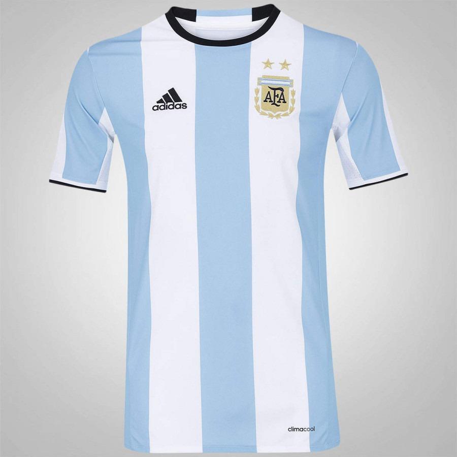 camisa argentina i 2016 frete grátis. Carregando zoom. 1d52abb3b8f31