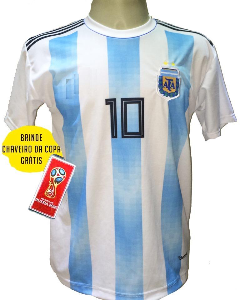 camisa argentina listrada azul branco preto 2018 2019. Carregando zoom. 1499c778d5e51