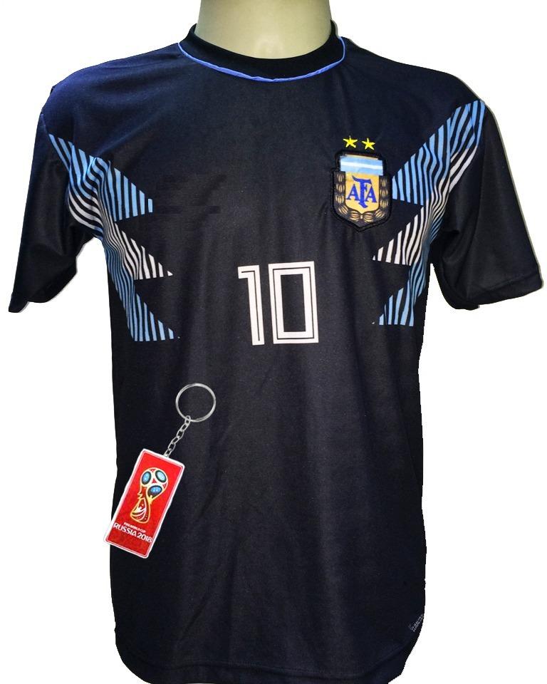 c19a0fc271c0f camisa argentina preto azul branco 2018 2019. Carregando zoom.
