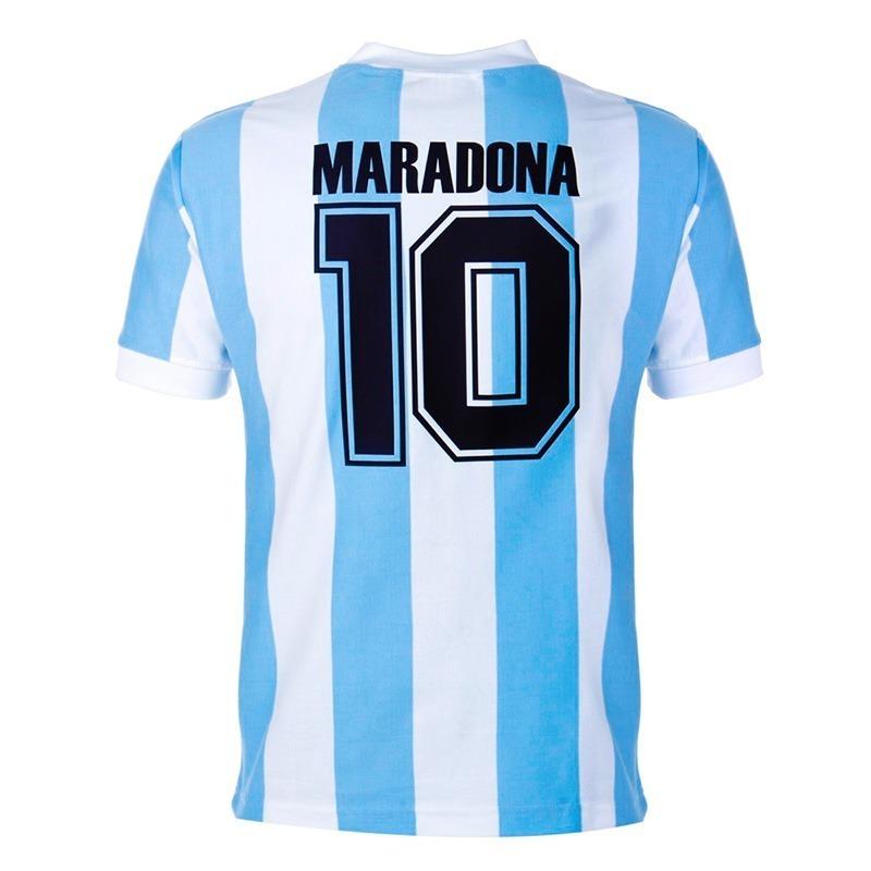 d63229a586 camisa argentina retrô 1986 oficial copa 86 maradona pronta. Carregando  zoom.