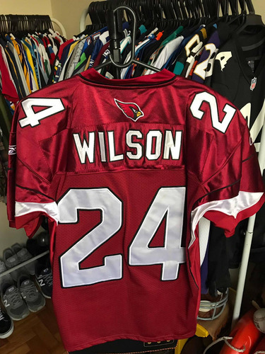 camisa arizona cardinals | reebok authentic