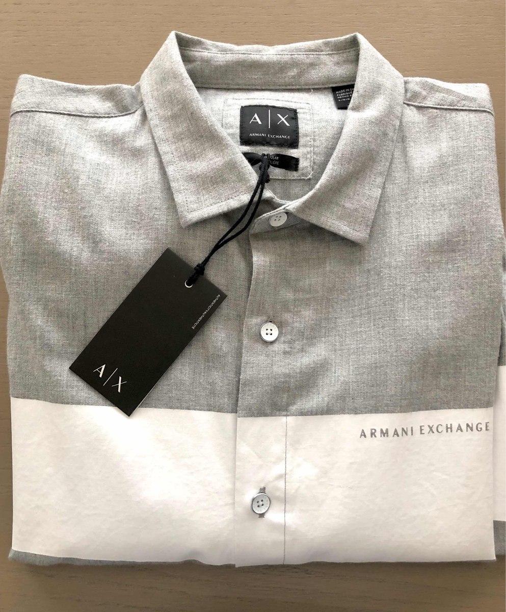 da6dcf81de ... 3a6dabb2237 Camisa Armani Exchange A x Talla Grande 100% Original -  1