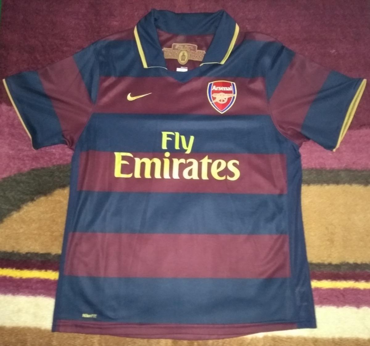 camisa arsenal 2007 2008 nike. Carregando zoom. e666d7d1ef06f
