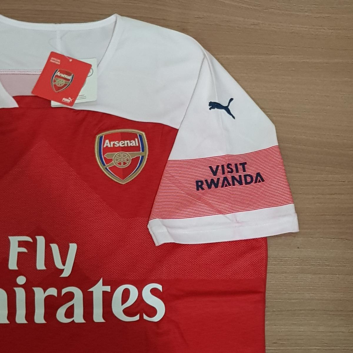 Camisa Arsenal Home 2019 Drycell Pronta Entrega - R  149 5779e2f3a0cff