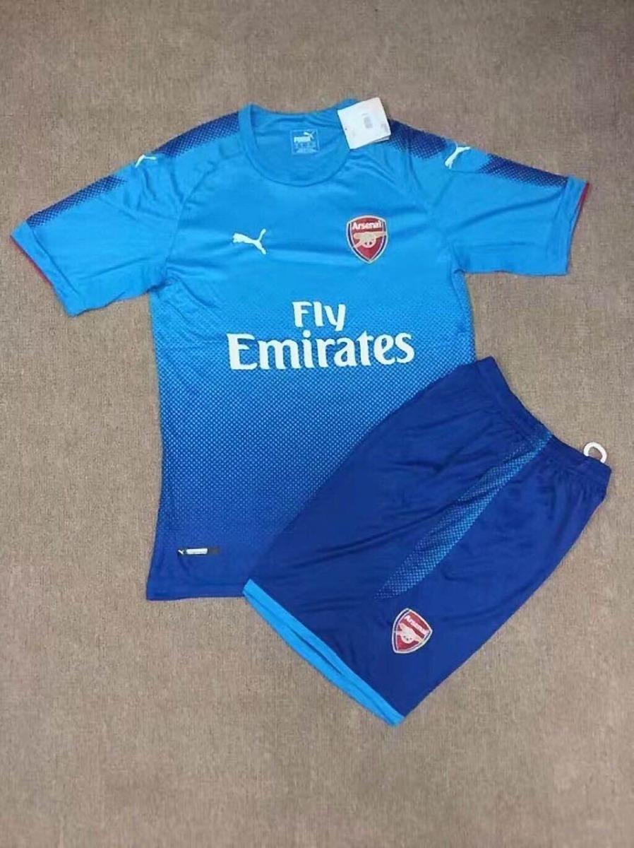 camisa arsenal kit infantil original 2018 sports mc. Carregando zoom. 4d1391f21b547