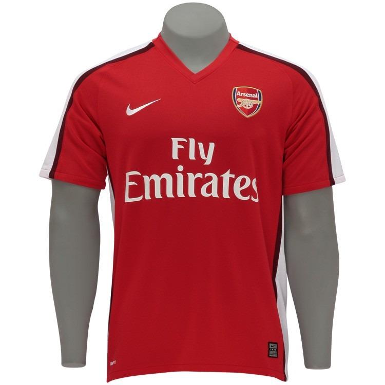 10cb6e4afaaa3 Camisa Arsenal Nike Oficial Authentica 20082009 Frete Gratis - R ...