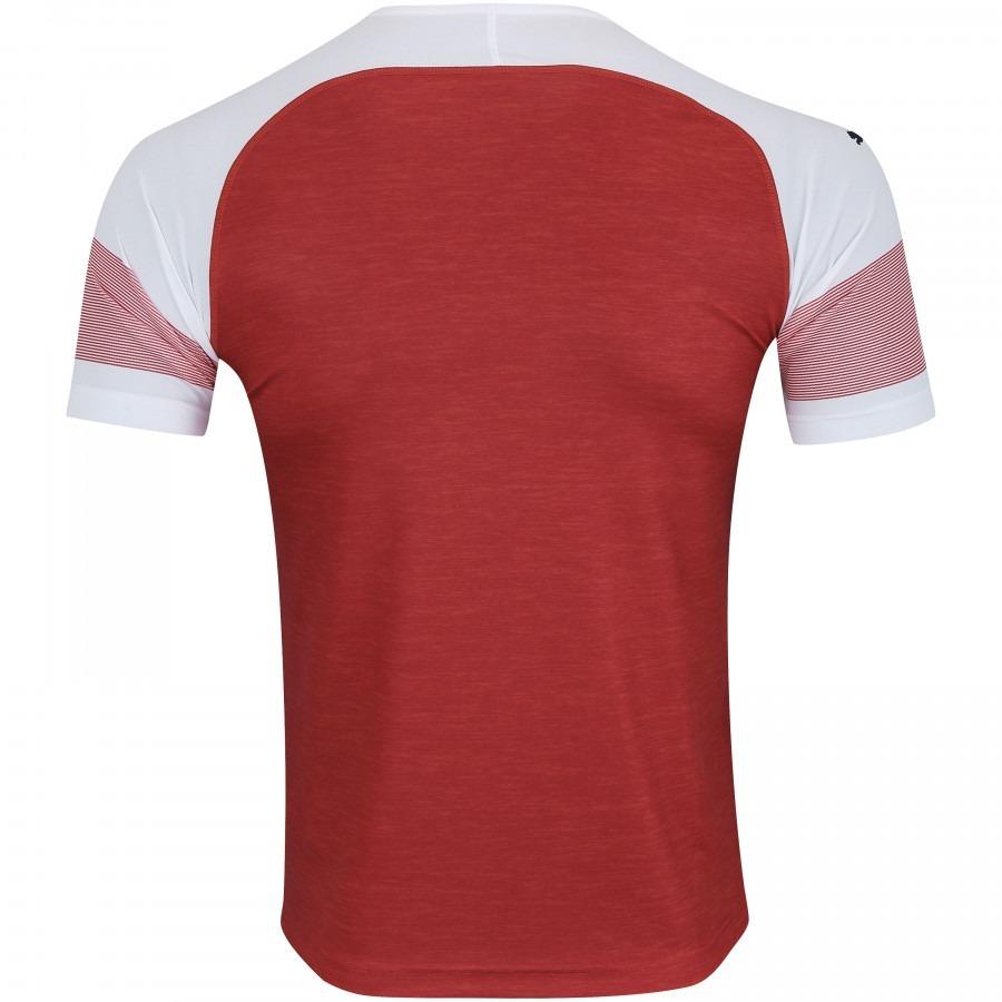 Camisa Original Do Arsenal Nova Puma Vermelha Branca Time - R  139 ... 275a562448b60
