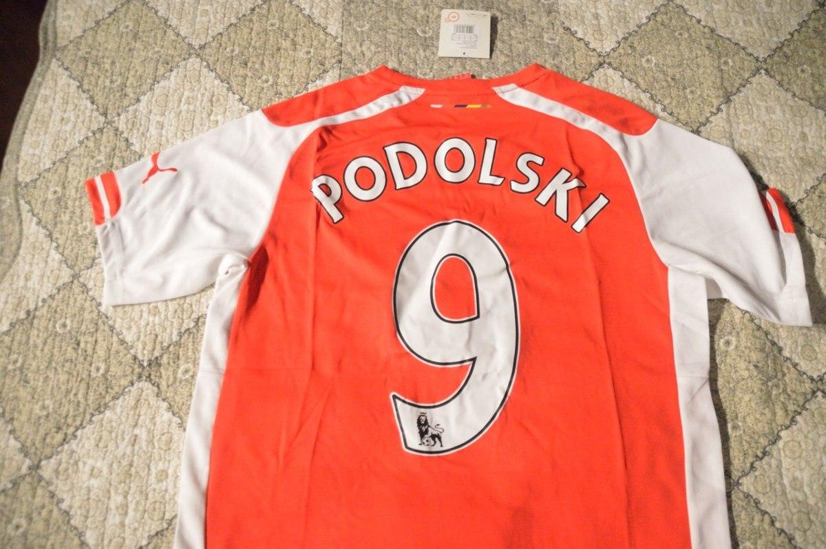 Camisa Arsenal Vermelha 14 15 Ozil Podolsk Pronta Entrega Fr - R ... 5fc53840c2362