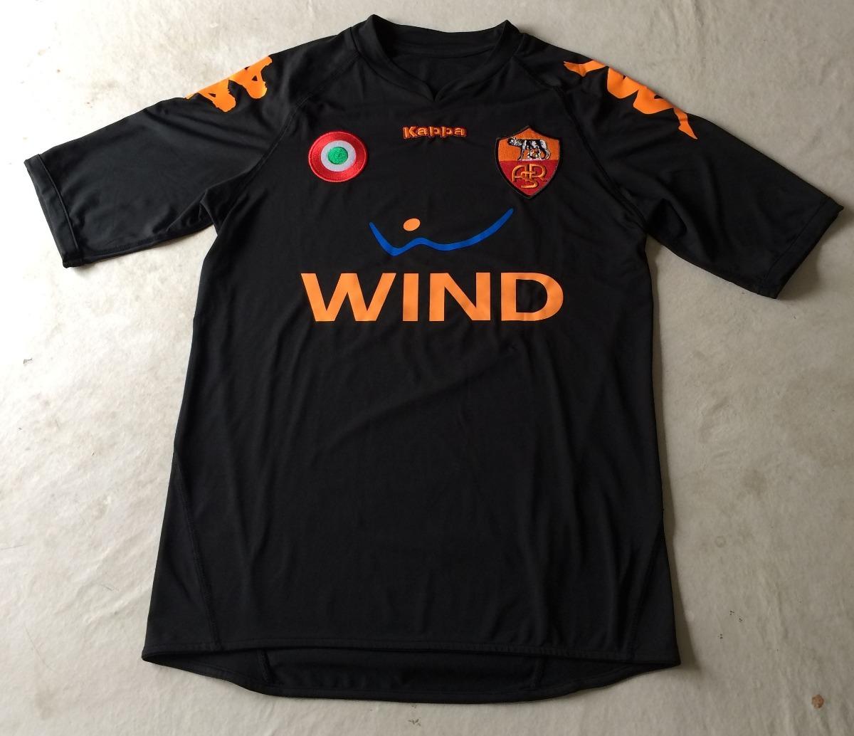 camisa as roma kappa m futebol calcio away. Carregando zoom. 31a64e79f2e27