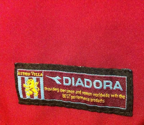 a46f51d49d Camisa Aston Villa 2003 04 Vassel  10 Diadora Rara - R  299