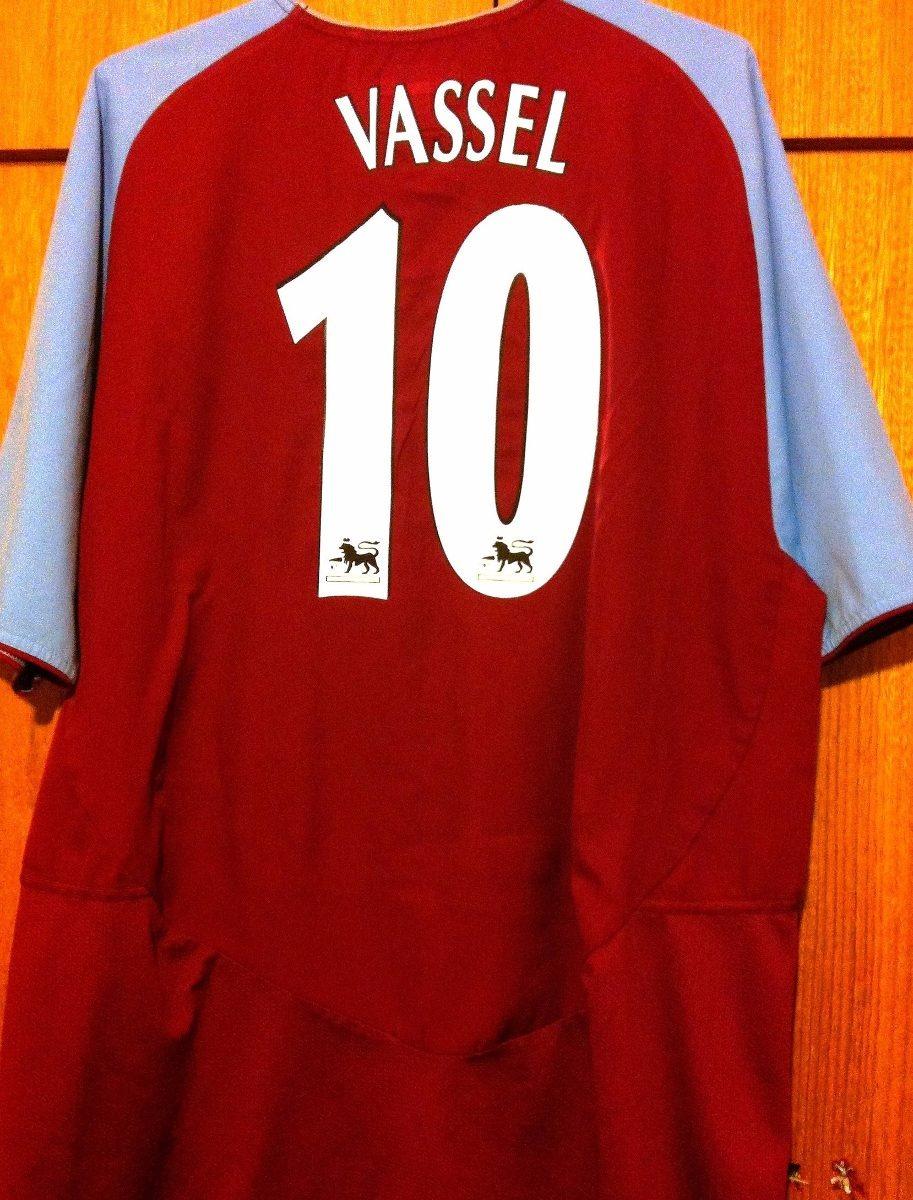 9229ac258e camisa aston villa 2003 04 vassel  10 diadora rara. Carregando zoom... camisa  aston villa. Carregando zoom.
