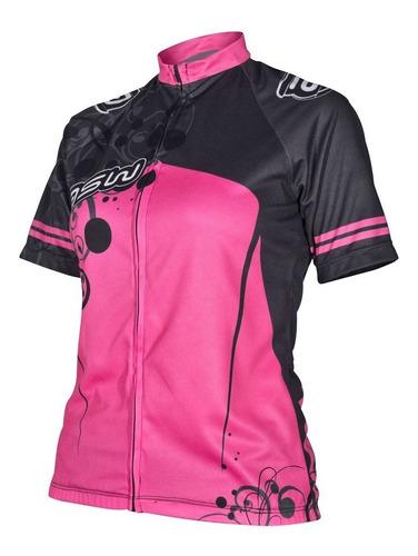 camisa asw active feminina ciclismo bike