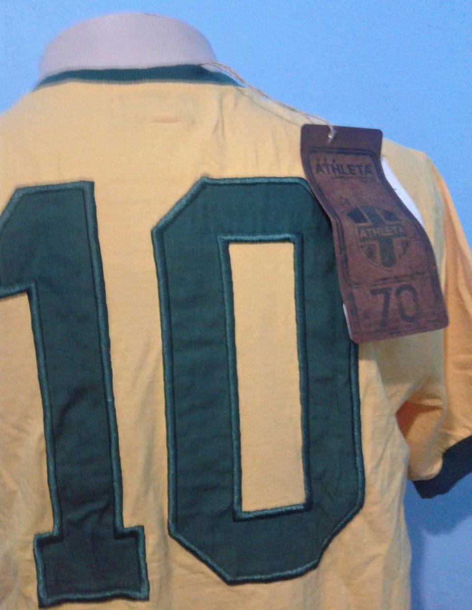 2c8e00e3cc camisa athleta seleção brasileira 1970 - pelé. Carregando zoom.