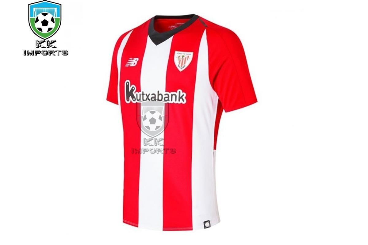 930cf3a14c camisa athletic club bilbao 2018 2019 uniforme 1. Carregando zoom.