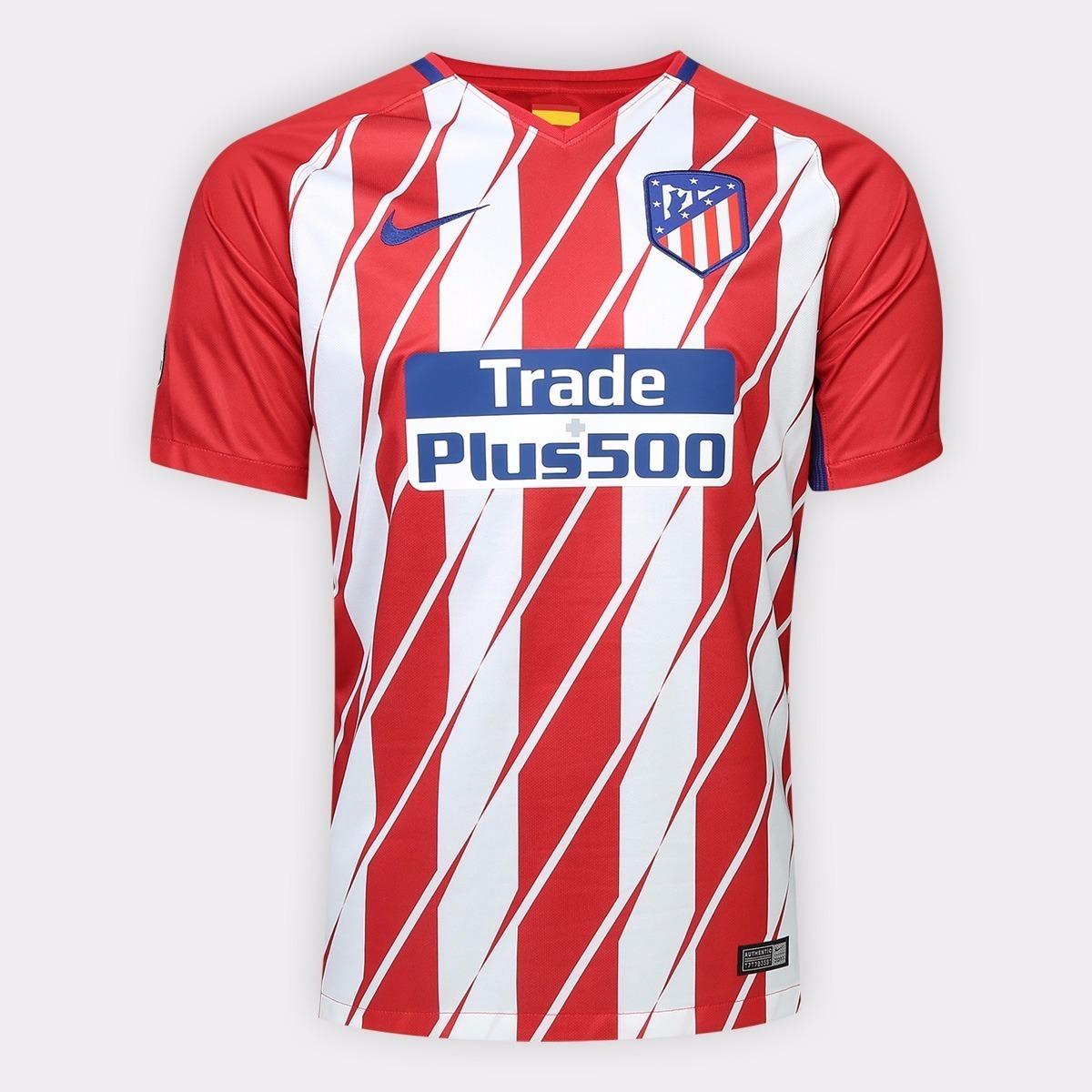camisa atletico de madrid espanha camiseta time promocao. Carregando zoom. 8064bdc135e00