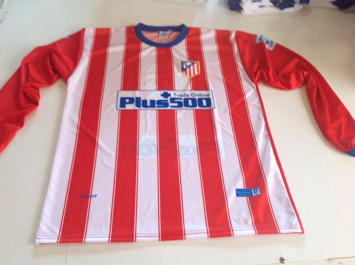camisa atlético de madrid manga longa g. Carregando zoom. 4404861e8408f