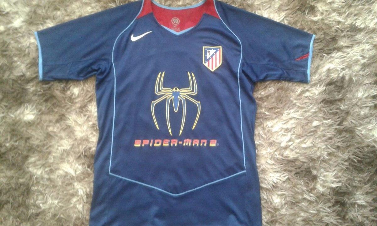 camisa atletico de madrid - spider man 2  9 fernando torres. Carregando  zoom. 0410ab7828e83