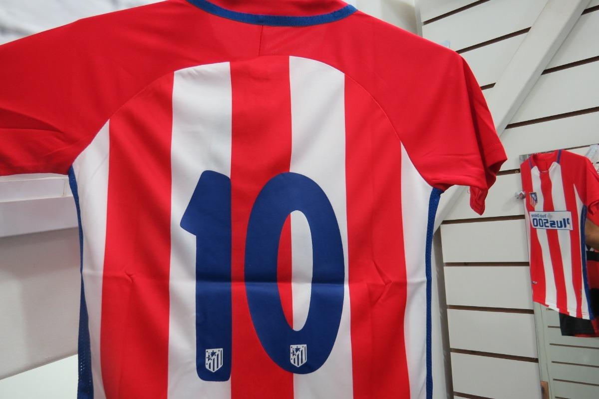 Camisa Infantil Atlético De Madrid - - R  60 5d8351ae1f868