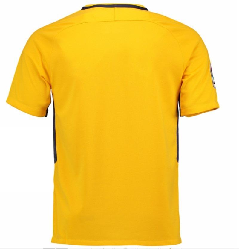 ... 17 18 amarela uniforme 2 · camisa atlético madrid. Carregando zoom. c02fb95229811