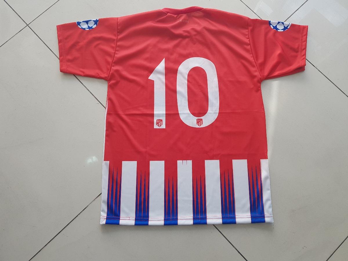 Camisa Infantil Atletico De Madrid 2019 - R  29 edad1f36365e8