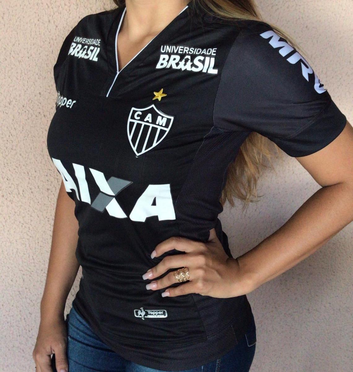 1ca92c44d camisa atletico mg feminina nova topper 2018 universidade br. Carregando  zoom.