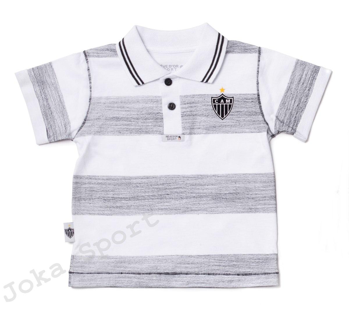 ec2ae748d Camisa Atlético Mg Infantil
