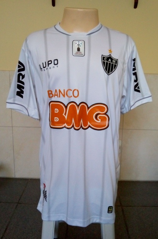 Camisa Atletico-mg Lupo 2013 Away Patch Libertadores - R  80 3f3ed78325a4a