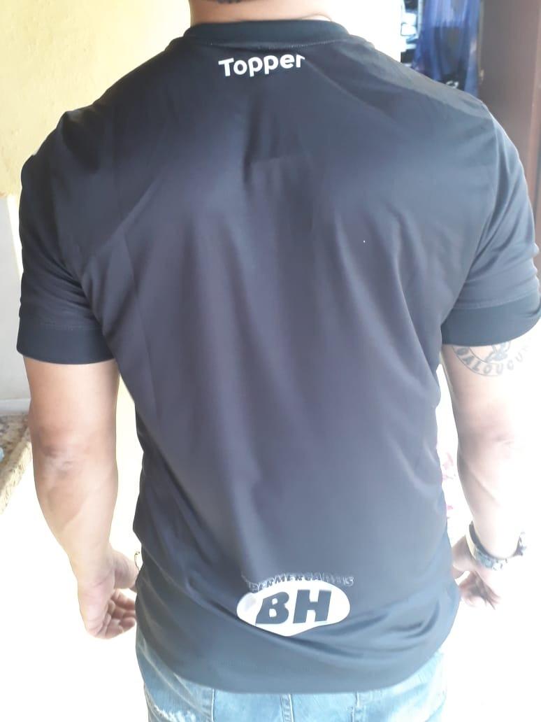 b85fd45905 camisa atletico mg uniforme preto 2019 topper mod  torcedor. Carregando  zoom.