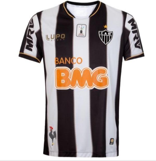 Camisa Atlético Mineiro 2013 Libertadores Galo - Lojas Pires - R  87 ... c2c34e4e7da