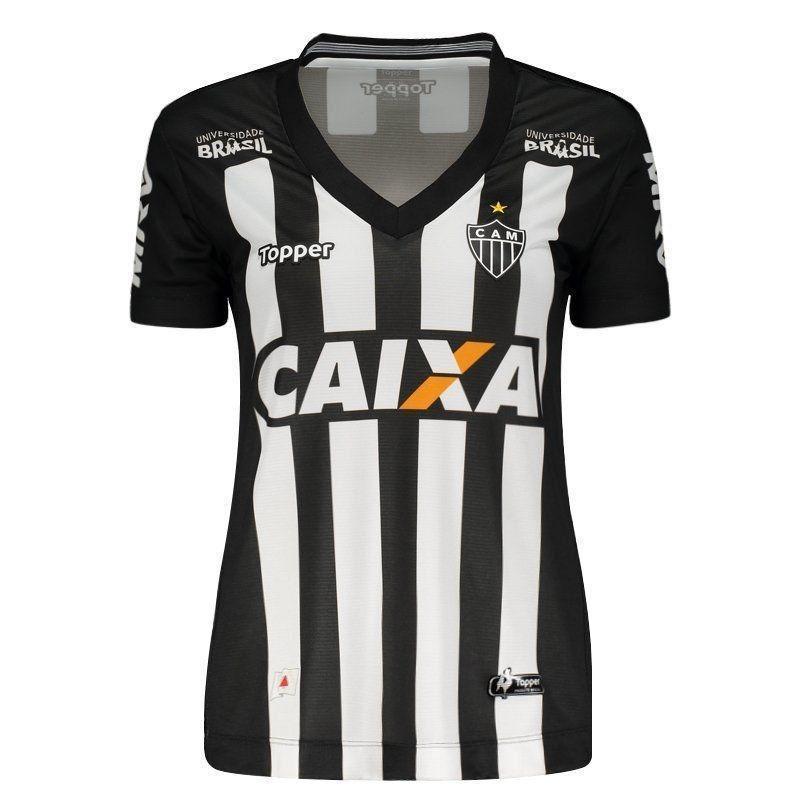 fffcafb55934d camisa atlético mineiro 2018 s nº topper feminina. Carregando zoom.