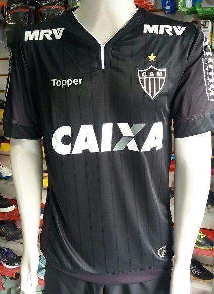 Camisa Atlético Mineiro 3 17 18 S nº Importada - R  84 feba188d32889