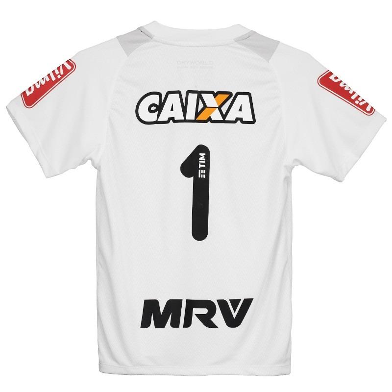 18f920d0c Camisa Dryworld Atlético Mineiro Ii 2016 Goleiro Infantil - R  44