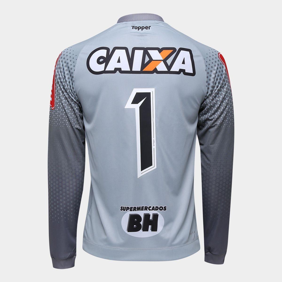 482e85d42a camisa atlético mineiro i goleiro 2017 manga longa. Carregando zoom.