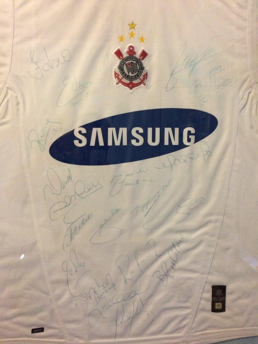 camisa autografada pelo time tetra campeão br. Carregando zoom. 1f46201d8904b