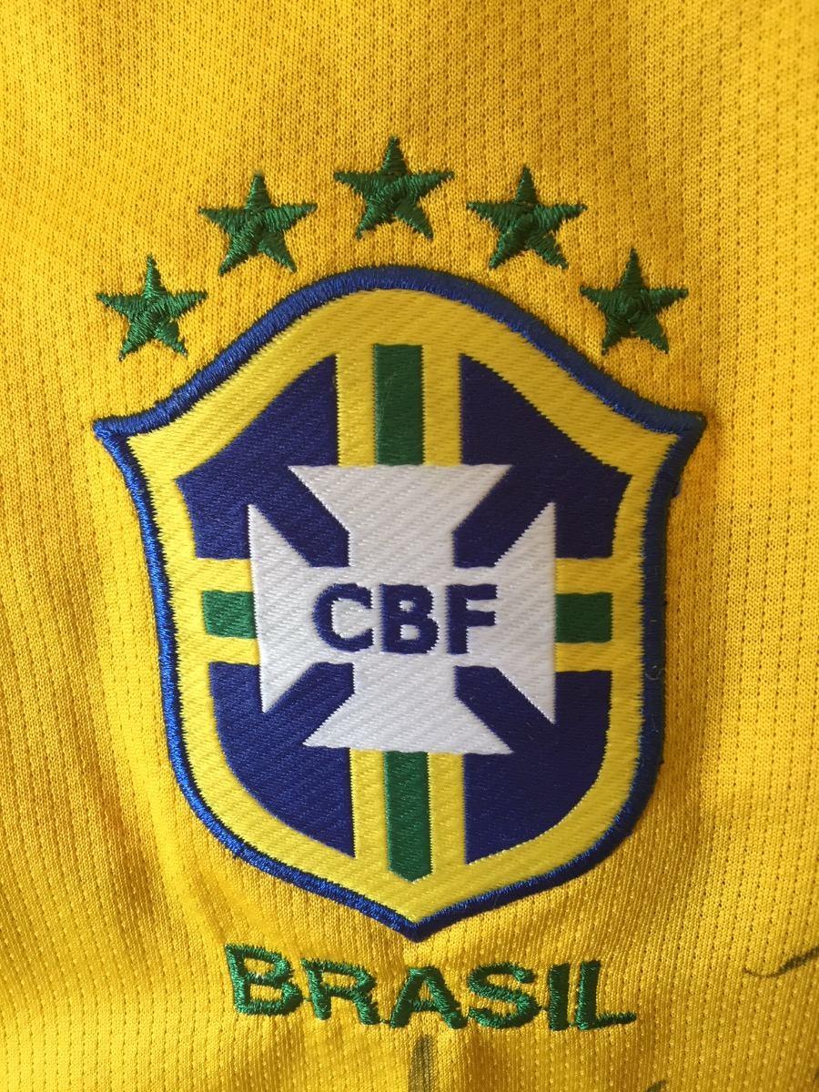 07d154f06f camisa autografada seleção brasileira. Carregando zoom.