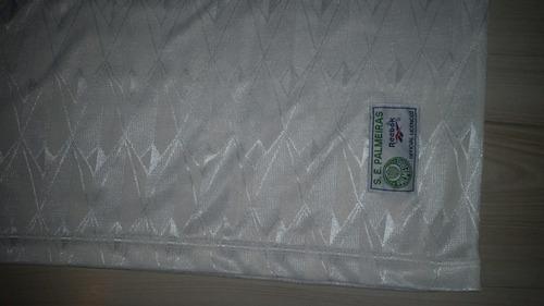 camisa away de jogo palmeiras 1996 reebok #11 parmalat gg