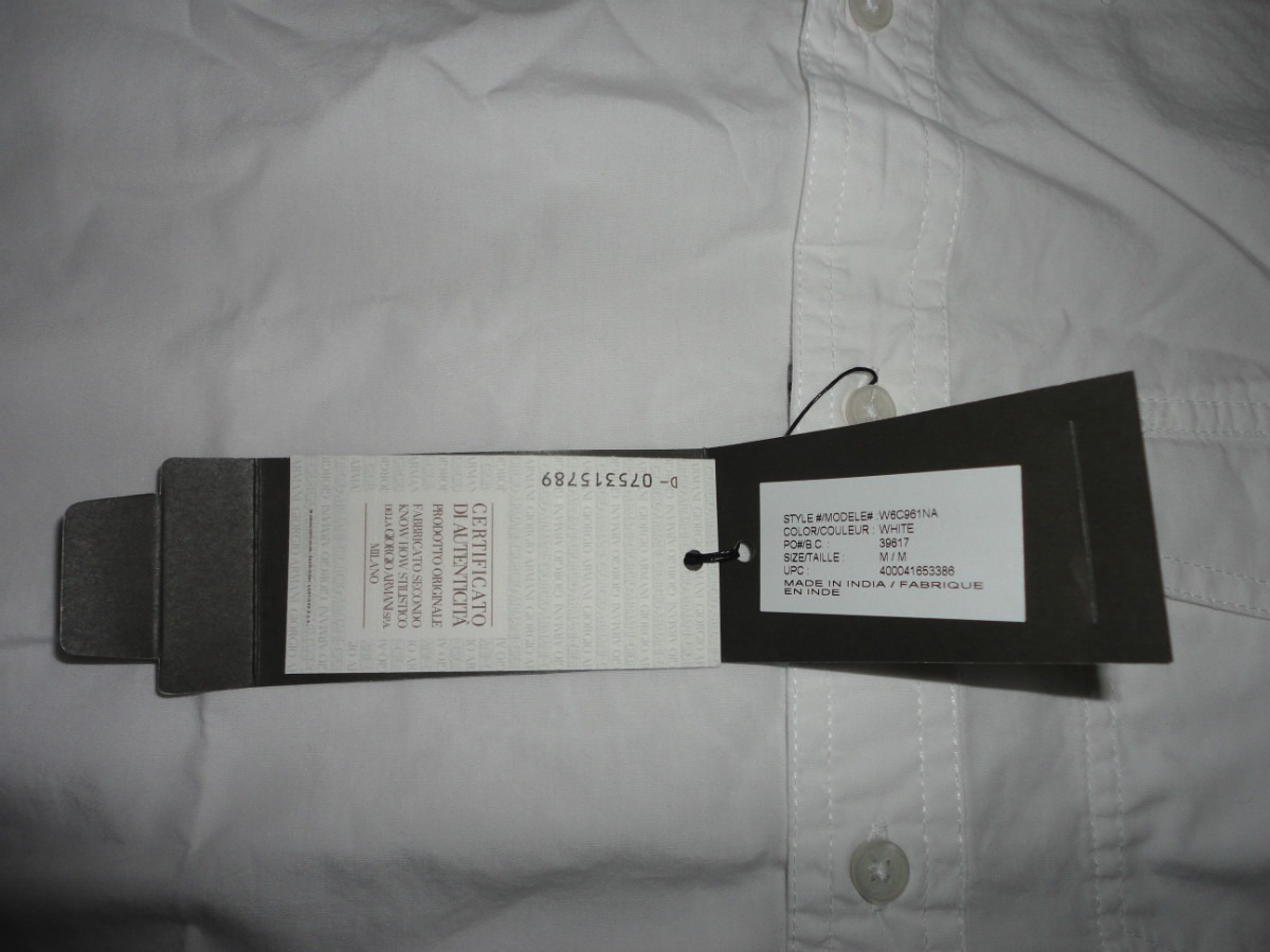 32d241f4039 camisa ax armani exchange (embroidered) large 100% original. Cargando zoom.