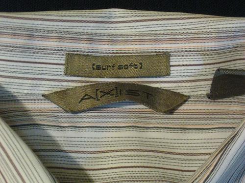camisa  axist talla xl manga corta