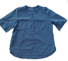 48db9bae8 Camisa Blanca Cuello Mao - Ropa y Accesorios en Mercado Libre Argentina