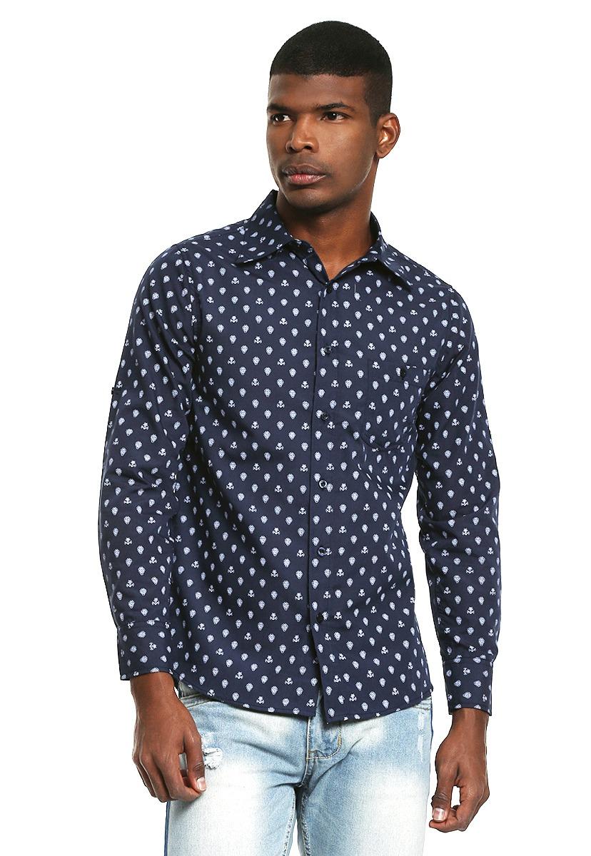 047b2452be camisa azul marino diseño anclas - simple people - 817348. Cargando zoom.
