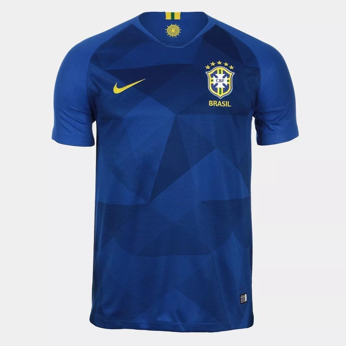 dd92da5ead camisa azul seleção brasileira oficial copa 2018 !! Carregando zoom.