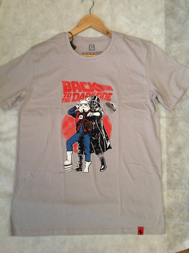 camisa back to the dark side -back to the future + star wars
