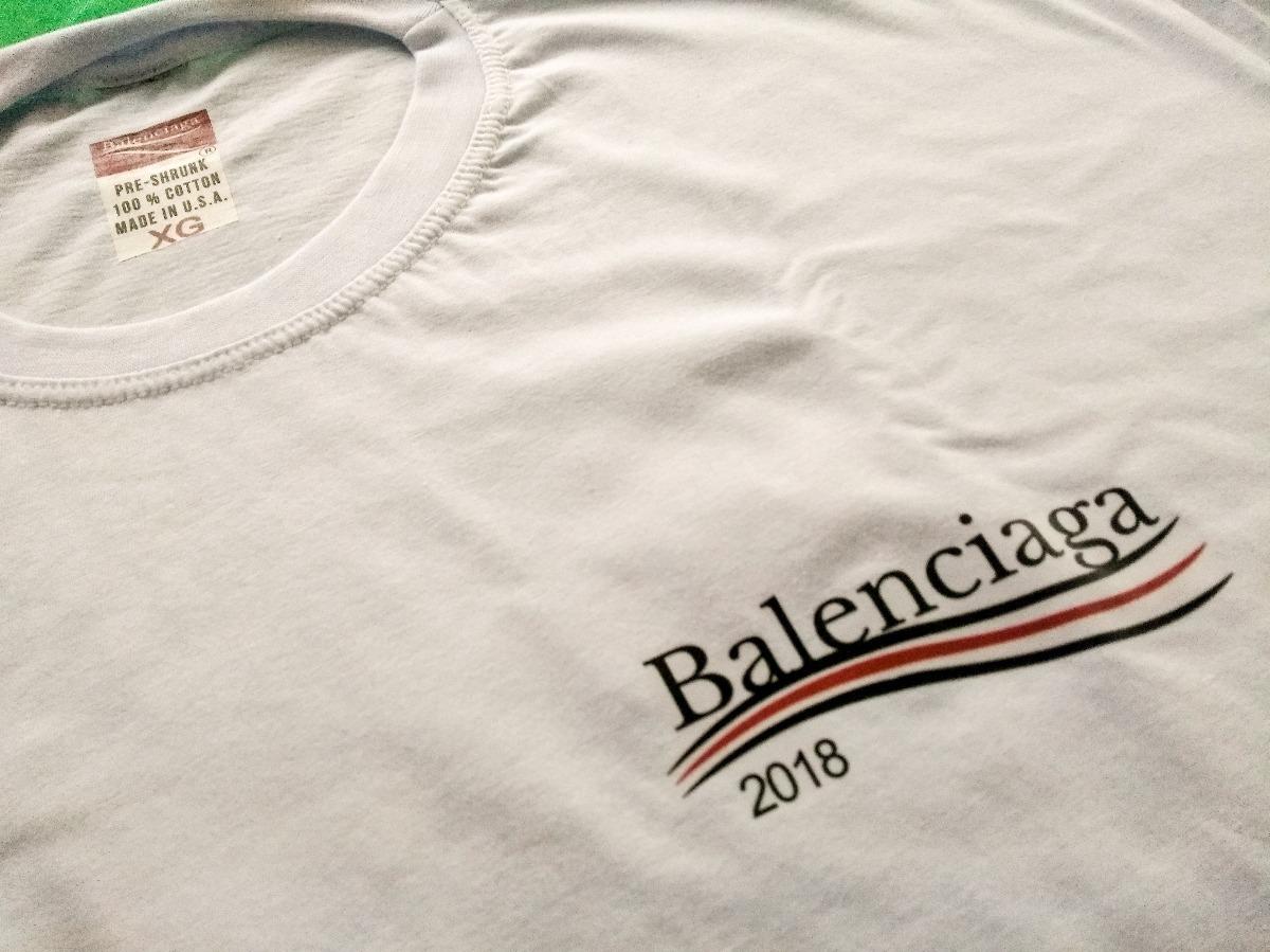 camisa balenciaga 2018 moda marca grife promoção oferta. Carregando zoom. dcf4ebe327c