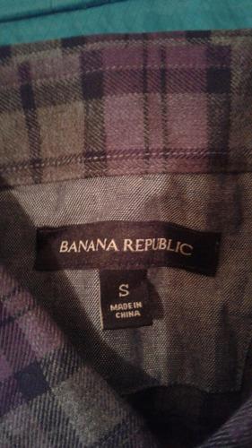 camisa banana republic chica